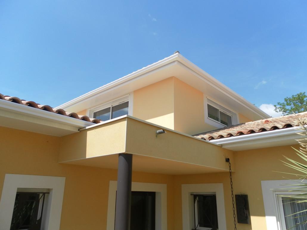 Surélévation de toiture en ossature bois, Rehausser une maison - Ets Pujol Béziers (34)